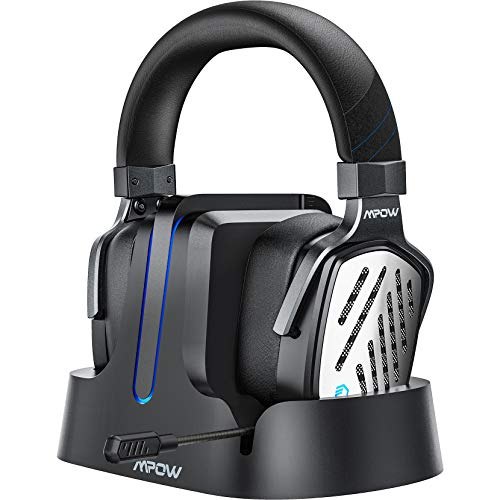 Mpow T1 Wireless Gaming Headset for PS4/PS5/PC Computer Headset with 3D...