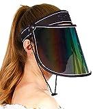 Face Protection Shield Sun Visor Hat Cap UV...