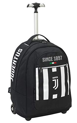 Seven Big Trolley Juventus Coaches Trolley para portátil 48 Centimeters 29 Negro...