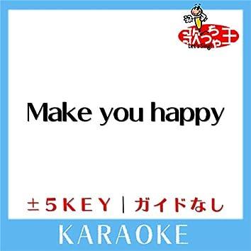 Make you happy (ガイド無しカラオケ)[原曲歌手:NiziU ]