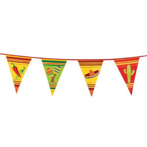 PARTY DISCOUNT Bunting Fiesta, 6 m
