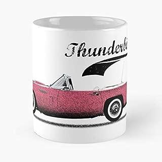 Ford Thunderbird Pink Car - Best Gift Ceramic Coffee Mugs 11 Oz