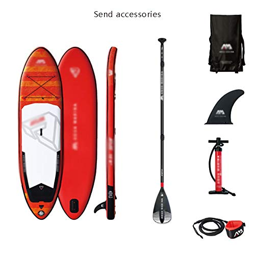 DODOBD Hinchable Tabla de Paddle Surf Inflable Tabla de paddletabla de Aleta, Tabla de Paddle Sup Remo Inflable Tabla de esquí acuático de Nivel competitivo
