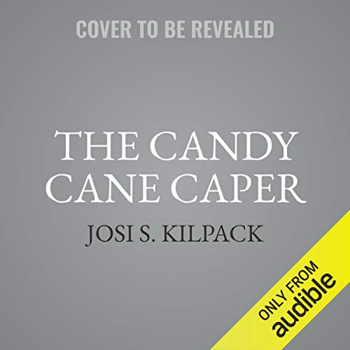The Candy Cane Caper audiobook cover art