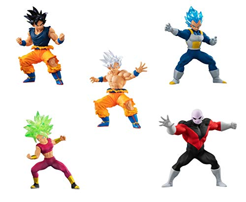 Gashapon Dragon Ball Super HG Series 06 Set of 5 Types (Import from Japan)