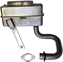 AMC OEM 137348 532137348 Muffler Plus Exhaust Gasket for 272293, 692236, 165291, 532165291