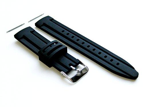 4 Stück Gummi Ersatzband Armband Set für Samsung Gear 2 und Samsung Gear 2 Neo Smart Armbanduhren (B-RASDMD22)