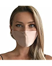 Silk Reusable Face Mask for Women Comfortable and Breathable | Adjustable Ear Loops