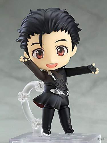 Rqcaxn Nendoroid Link Yuri On Ice Victor Katsuki Yuri PVC Figura de acción de colección Modelo de Juguete Approx10CM