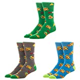 Nintendo The Legend Of Zelda Video Game Three-Pack Crew Socks