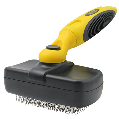 Pet Republique Dog Grooming Slicker Brush Series - for Cats, Dogs, Rabbits, Any Long Haired Breed...