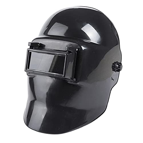 FAKEME True Color Welding Helmet, Wide Shade Masks Black for TIG MIG ARC Weld Hood Helmet