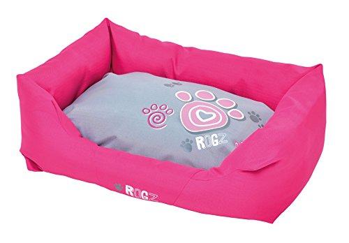 Rogz PPM-CA Spice Podz Dog Bed/Hundebett, M, rosa