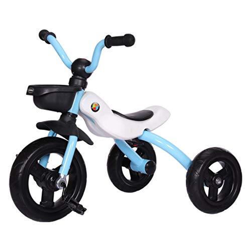 MAGO Neue Kinder faltbare freie Installation Fahrrad Multifunktions-Sportkinderwagen 3-5 Jahre altes Kind Dreirad, Multicolor, Dreirad Kinder (Color : Pink)