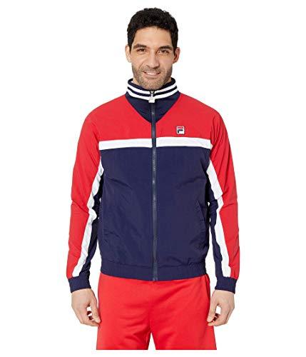 Fila Diego Track Jacket Peacoat/Chinese Red/White XL