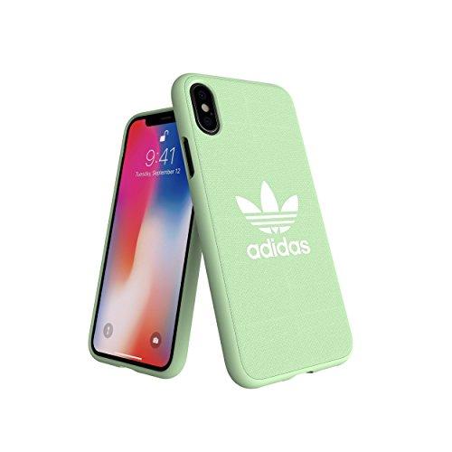 adidas Originals Adicolor Coque moulée pour iPhone XS/X Vert Menthe