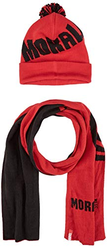 Marvel Comics Spider-Man Miles Morales Bobble Beanie & Scarf Gift Set Conjunto...