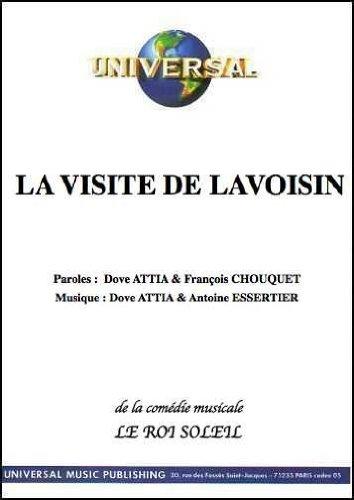 LA VISITE DE LAVOISIN (partition)