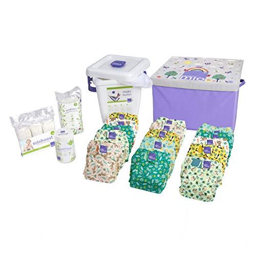 Bambino Mio premium baby potjes-set van de geboorte tot potje, tropische jungle, unisex
