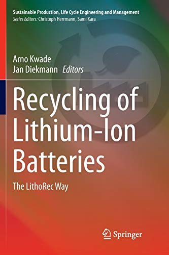 Recycling of Lithium-Ion Batteries: The LithoRec Way