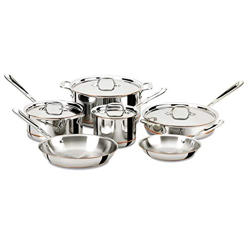 All-Clad 10 Piece Cookware