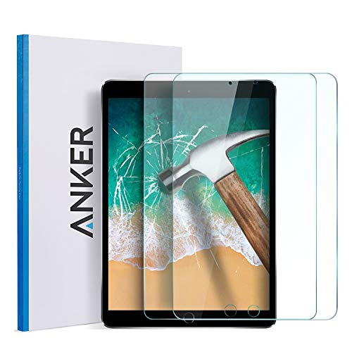 Why Choose Anker New iPad 9.7 in (2018/2017) Screen Protector(2 Pack), Anker Tempered Glass Screen P...