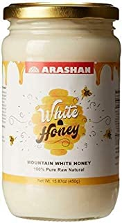 "Sponsored Ad - Arashan White Honey – Raw Unfiltered Honey, Organic (15.87 Oz)| Wildflower/Clover Honey From The ""Mountains..."