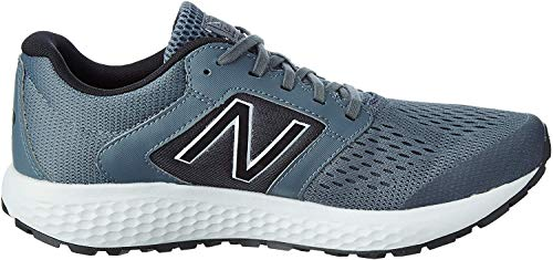 New Balance mens 520 V5 Running Shoe, Lead/Light Aluminum, 10.5 US