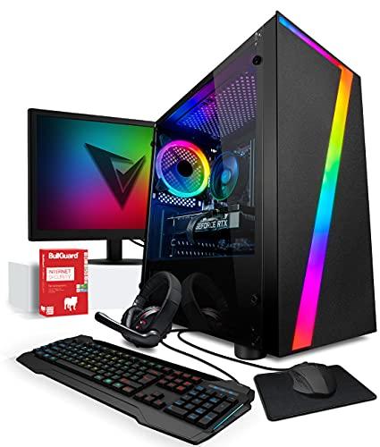 Vibox II-34 PC Gamer - Écran Pack - Six Core Intel i5 Processeur - Nvidia GTX 1050 Ti 4Go Carte Graphique - 16Go RAM - 240Go SSD - 1To Disque Dur - Windows 10 - WiFi