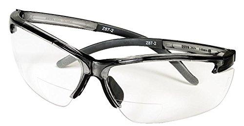 MSA 10065847 Pyrenees MAG Eyewear, Clear, 2.0 Bifocal