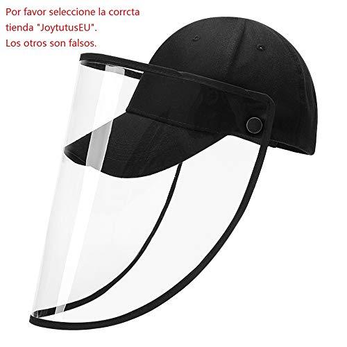 VECOLE Damen Verstellbarer Anti-Speichel-Schutzhut Transparente Abdeckung Sport Outdoor M/ütze Kappen Gesichtsschutzmaske Schutzhut