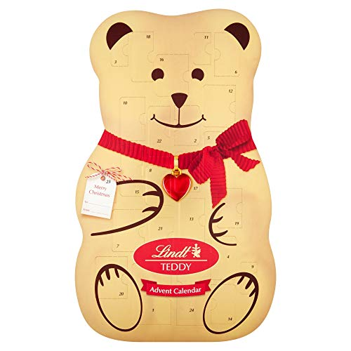 Lindt Teddy Luxus 3D Adventskalender, 310g