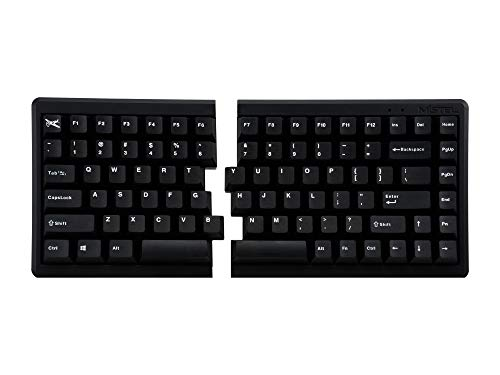 Mistel BAROCCO MD770 RGB メカニカルキーボード 英語配列 85キー 左右分離型 CHERRY MX RGB 茶軸 ブラック MD770-BUSPDBBT1