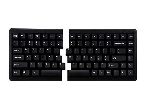 Mistel BAROCCO MD770 RGB メカニカルキーボード 英語配列 85キー 左右分離型 CHERRY MX RGB 静音赤軸 ブラック MD770-PUSPDBBT1