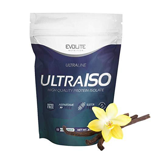 Evolite Nutrition UltraIso 2270 g - Proteina Whey - Crear Batidos Para Adelgazar - Proteinas Para Aumentar Masa Muscular - Proteina Isolada - Vanilla