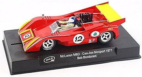 Slot  CA26d McLaren M8D Paul Newman  12 Can-Am 1971 by Slot