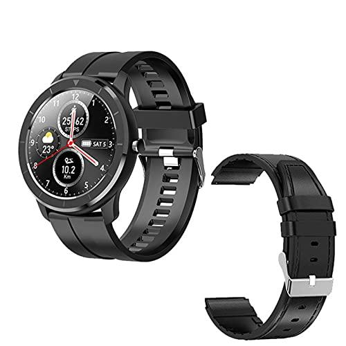 KMF Nuevo Inicio De Producto T6 Pantalla Táctil Completa Smart Watch Pulsera Deportiva Monitor De Ritmo Cardíaco IP68 Rastreador De Actividad De Fitness Impermeable,E