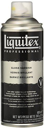 Liquitex Professional - Barniz en spray de 400 ml, transparente