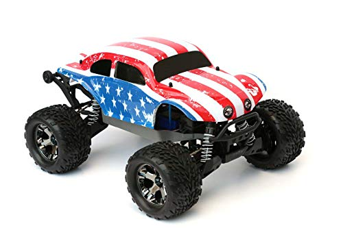 SummitLink Compatible Custom Body Flag Strip Style Replacement for 1/10 Scale RC Car or Truck (Truck not Included) STB-ST-01