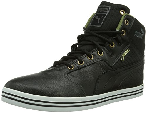 Puma Tatau Mid L GTX, Herren Hohe Sneakers, Schwarz (black-burnt olive-dark shadow-bronze-white 04), 43 EU (9 Herren UK)