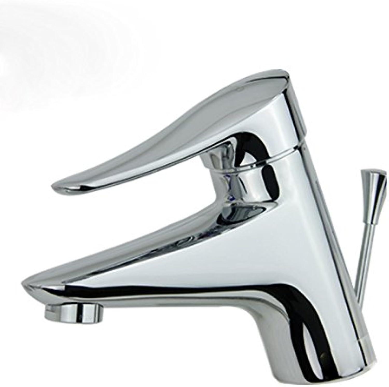 ETERNAL QUALITY Bad Waschbecken Wasserhahn Küche Waschbecken Wasserhahn Warm- Und Kaltwasserhahn Chrom Einlochmontage Waschtischmischer BEG646
