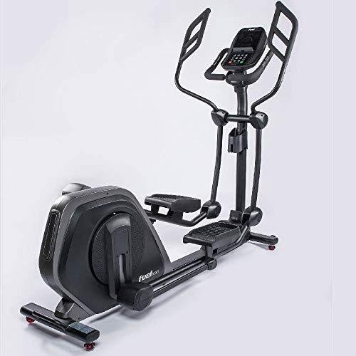 Fuel Fitness EC900 Profi-Crosstrainer, Profi-Crosstrainer für zuhause, Fitnessstudio, Sportverein, Nutzergewicht bis 160kg, gelenkschonendes Training, Ganzkörperworkout, KINOMAP