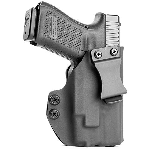 IWB Holster - Olight Baldr Mini - Black (Right-Hand, CZ 75 P07)