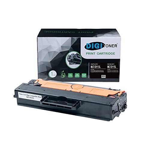 TonerPlusUSA Compatible MLT-D115L Toner Cartridge – MLT-D115L High Yield Toner Cartridge Replacement for Samsung Laser Printer – Black [1 Pack]