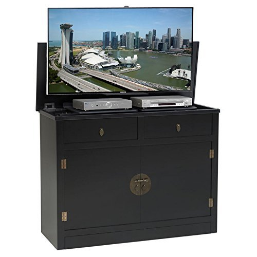 TVLiftCabinet, Inc Adagio black TV Lift Cabinet