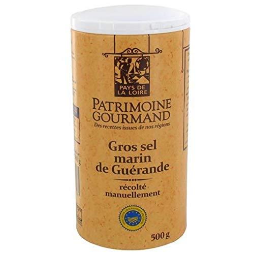 PATRIMOINE GOURMAND - Gros Sel Marin De Guérande 500G - Lot De 4