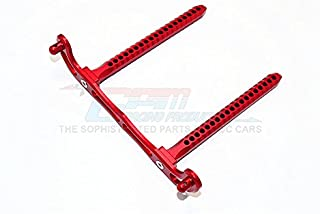 GPM Traxxas Telluride 4X4 / Deegan 38 Fiesta ST Rally Upgrade Parts Aluminum Rear Body Post Mount - 1Pc Red