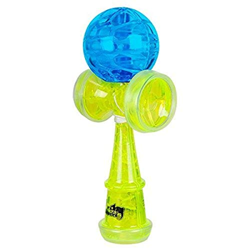 Duncan Toys Torch Light-Up Kendama Toy, Varying Colors