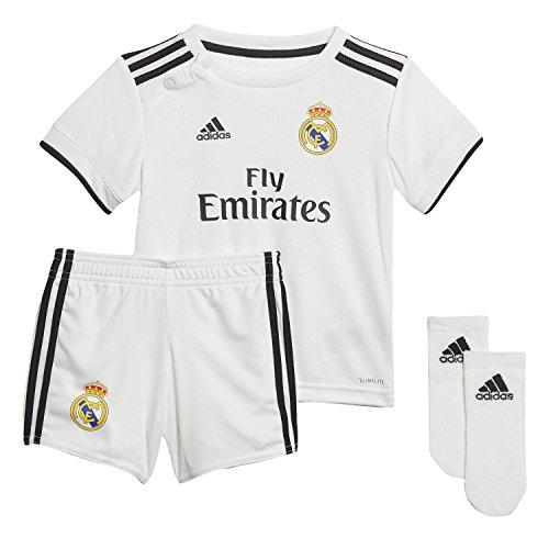 adidas minikit Bebe Real Madrid Minikit, Unisex bebé, Blanco, 80