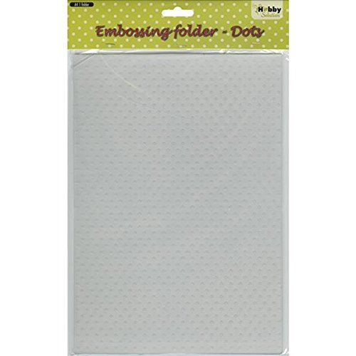 Ecstasy Crafts Nellie's Choice Embossing Folder, A4-Dots